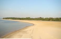 Praia na ilha