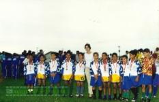 Finais 3º Campeonato Regional entre garotos do Cone Sul em 2000