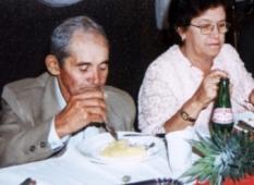 José Cicero e sua Esposa