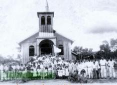 Primeira Igreja Católica de Eldorado