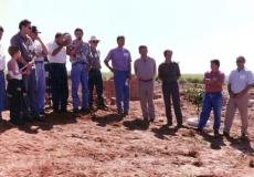 Autoridades na Inauguração do projeto